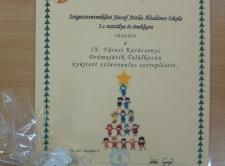 A IX. Városi Karácsonyi Drámajáték Találkozón (5.c)