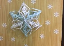 Téli dekoráció ApraJAfalván
