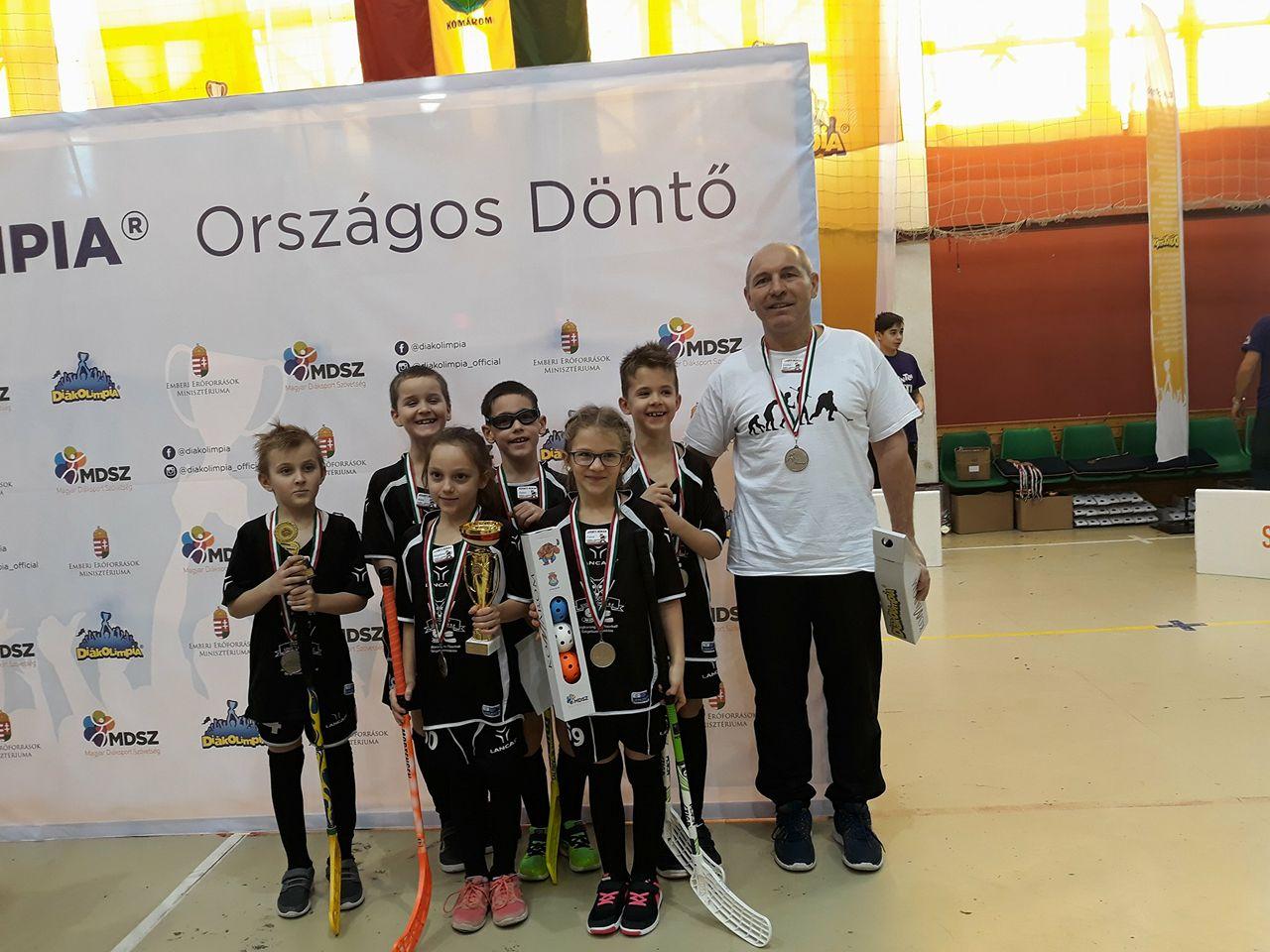 Diákolimpia Országos Döntő – Floorball kispályás I. korcsoport