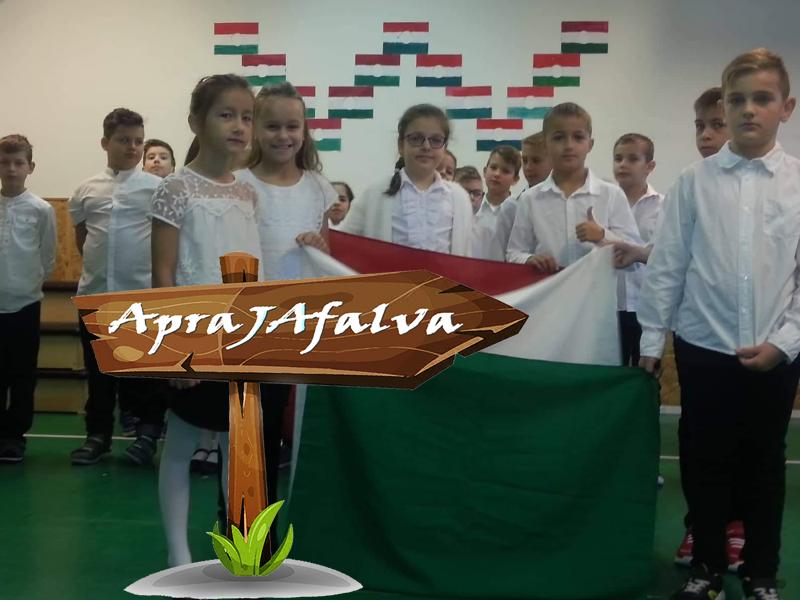 Október 23-i műsor ApraJAfalván