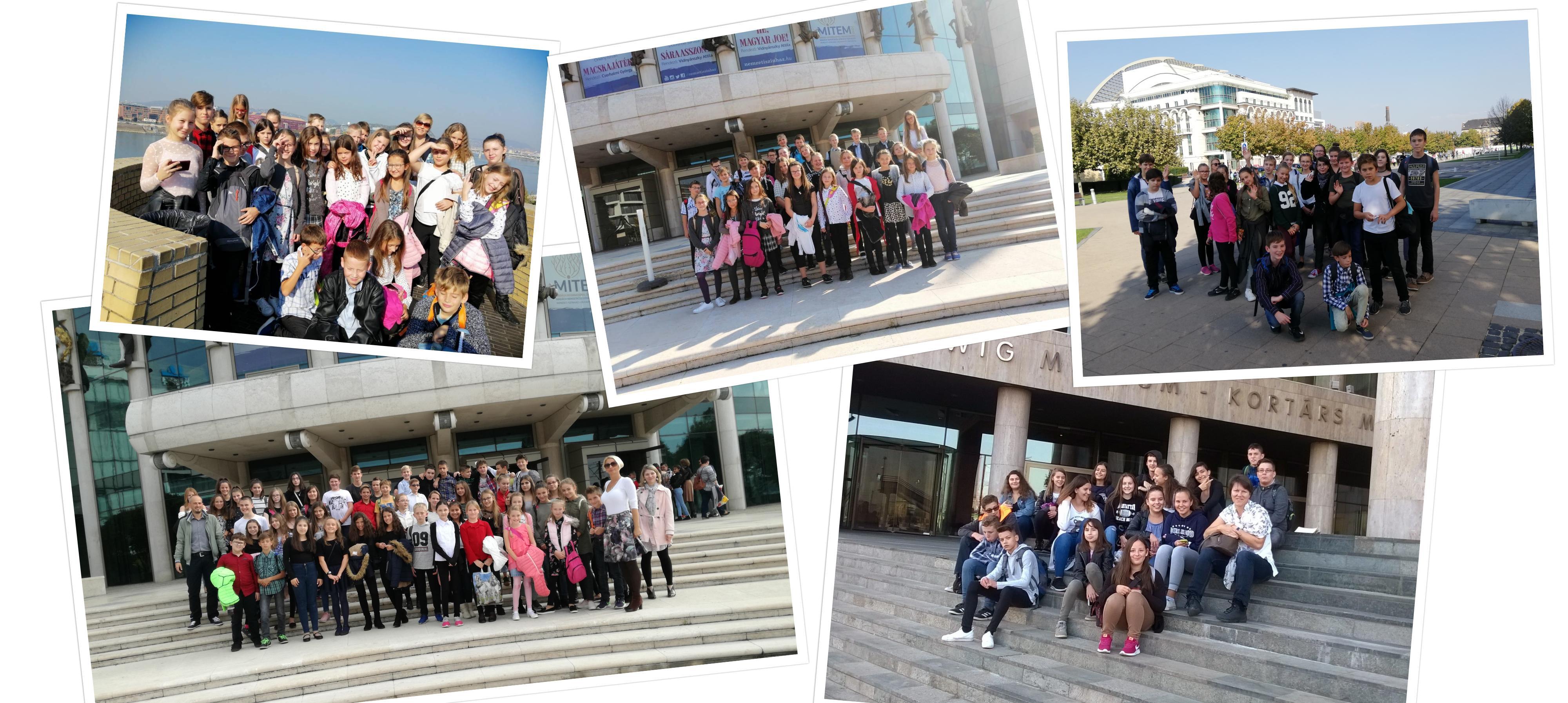 Őszi kulturális programok, élmények felső tagozatos tanulóinknak: Nemzeti Színház, MÜPA…