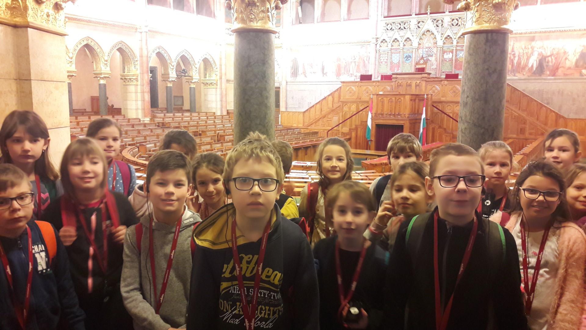 A Parlamentben jártunk