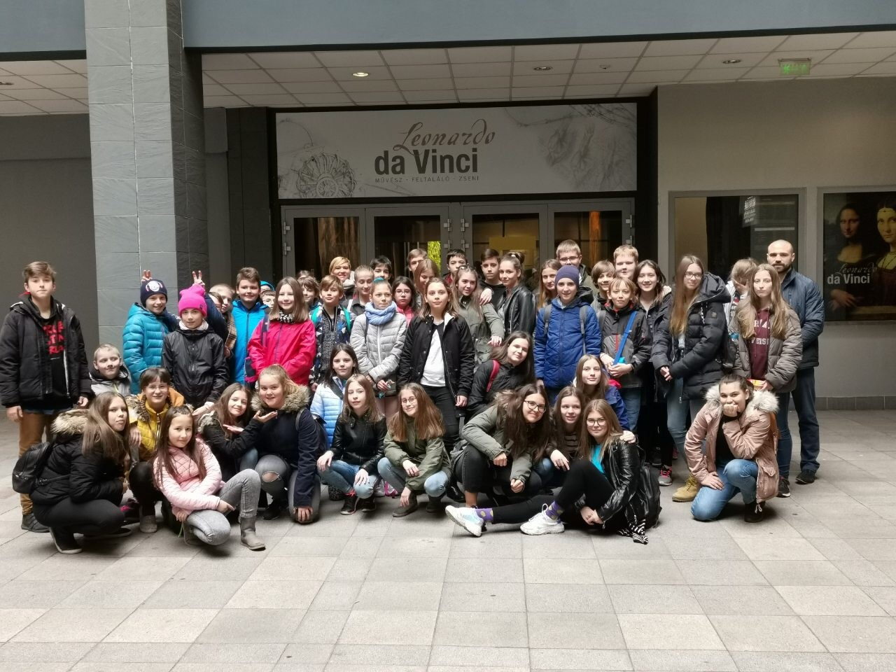 Da-Vinci kiállításon járt iskolánk több osztálya