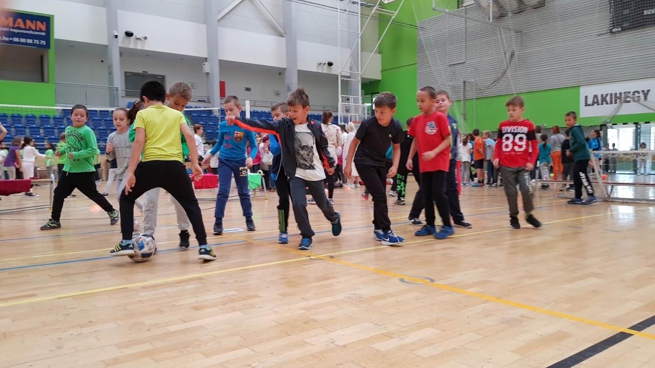 Egy fergeteges sportnap a városban és iskolánkban…